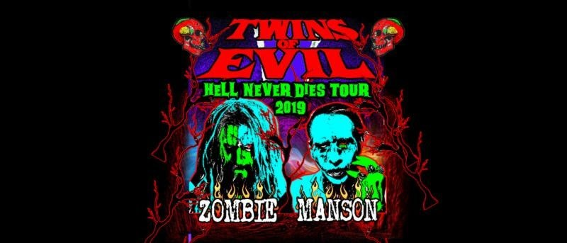 Rob Zombie Tour 2020.Rob Zombie And Marilyn Manson Confirm Their Notorious Twins