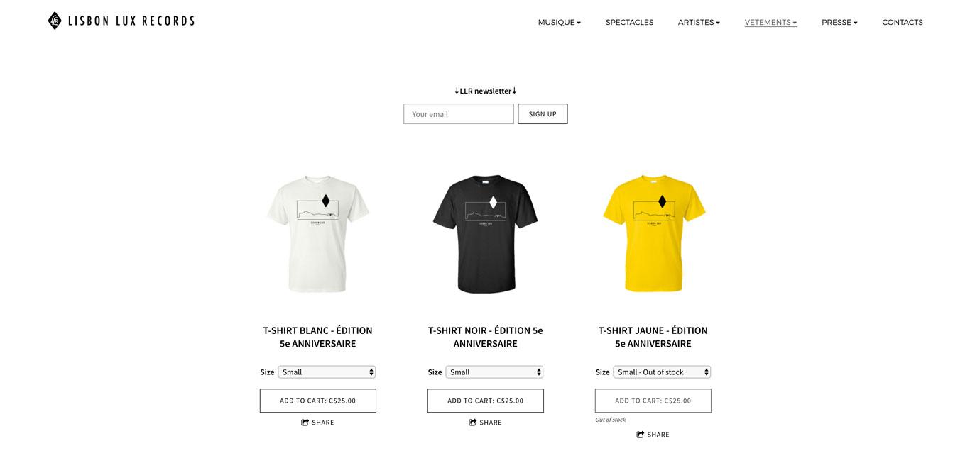 Lisbon Lux Records Label website
