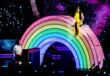 Kacey Musgraves - Chris Martin- iHeartRadio Awards Show-2019 - Music Industry Weekly