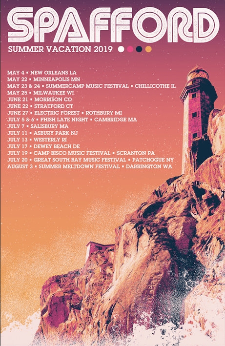 spafford-announces-summer-vacation-2019-tour - music industry weekly