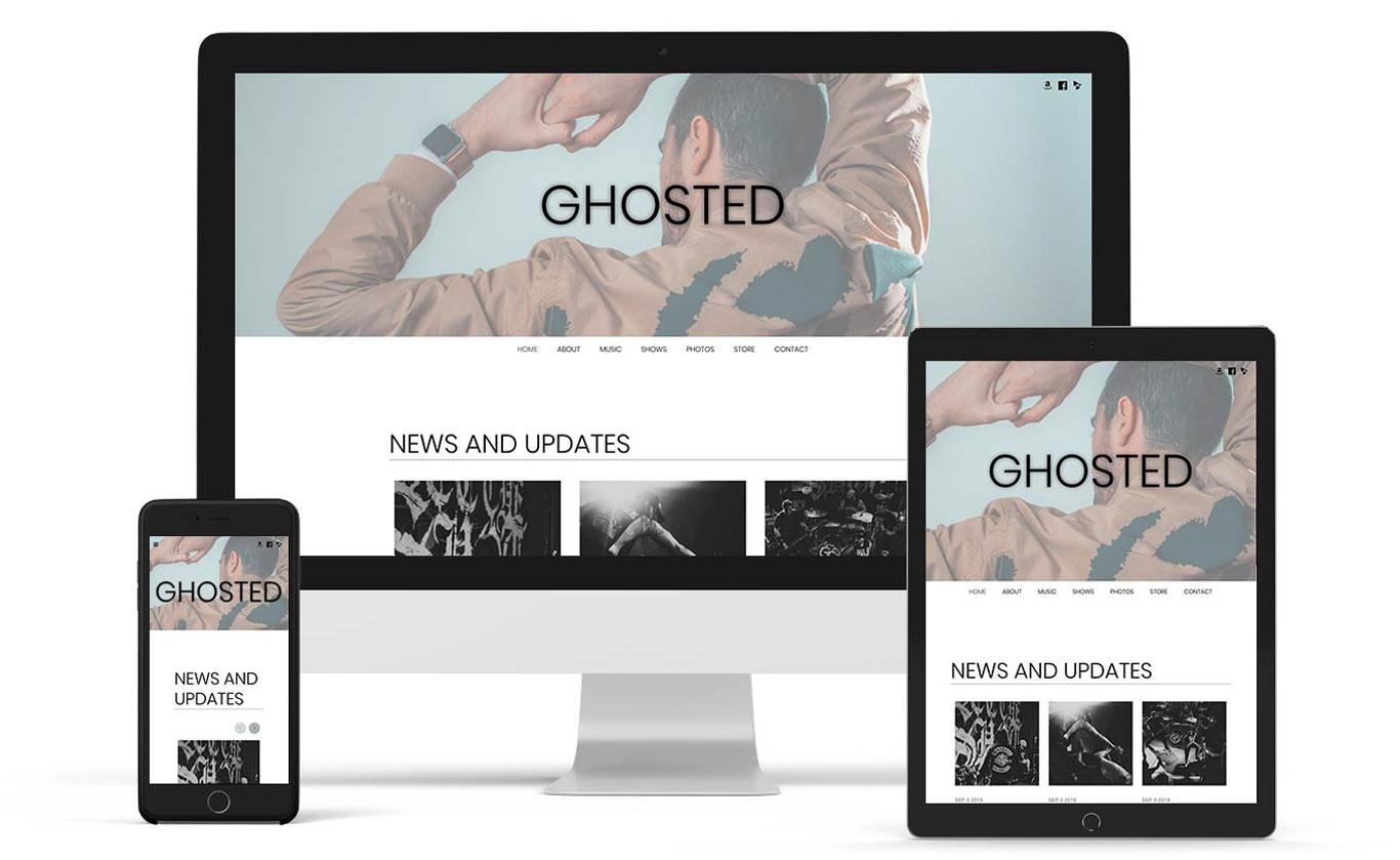 Neutral website template