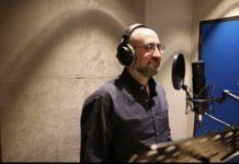 jay rosezweig in studio